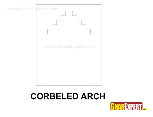 Carbeled arch