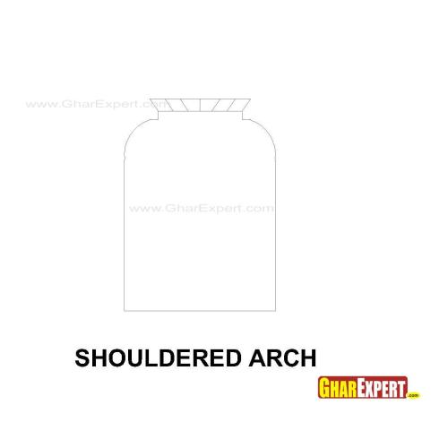 Shouldered arch