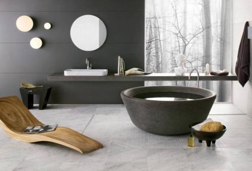Black Themed Bathroom Design