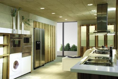 Kitchen decoration kitchen styles kitchen design ideas for Two way galley kitchen designs