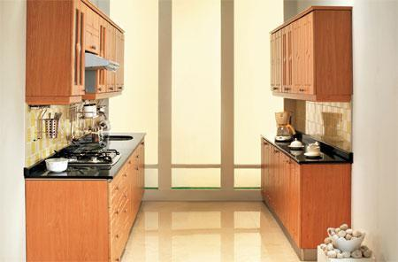 Two-way galley kitchen