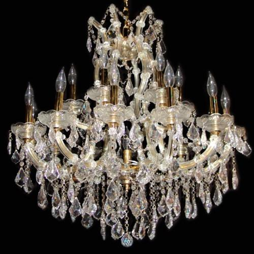 Candle Style Crystal Chandelier