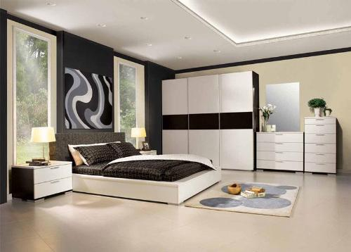 Bedroom with Modern Bedroom Sets