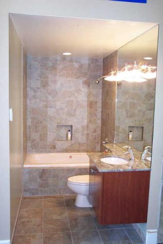 Lighting in Small bathroom
