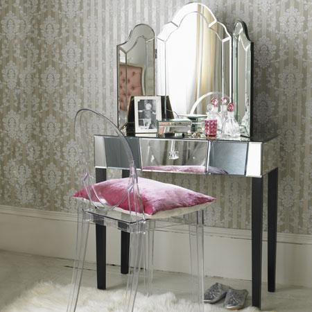 Loop-Leg Dressing Table
