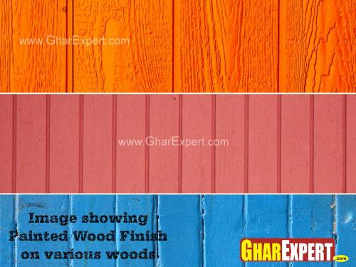 Different Wooden Surfaces after Paint