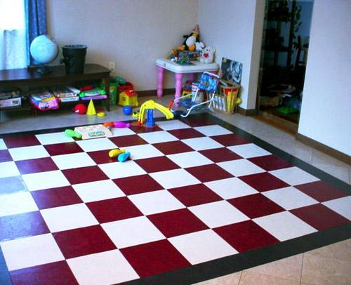 Flooring for kids room kids room floor for Tiles for kids room