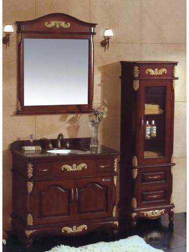 Traditional Style Bathroom Cabinets with Mirror
