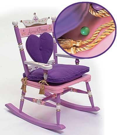 Rocking Chair for Baby Girls