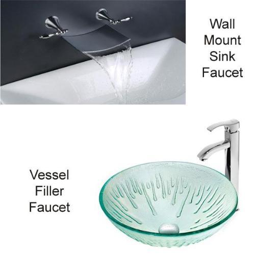 Trendy Vessel Filler of Wall Mount Faucet Designs