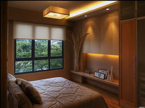 Small Bedroom Lighting Style with a Difference)