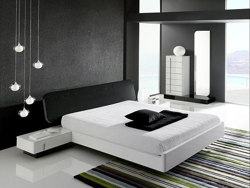 decoration ideas for black bedroom