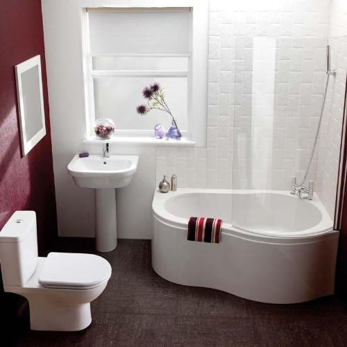 Corner Bath Tub for Small Bathrooms