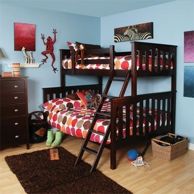 Bunk Bed In Sibling Room