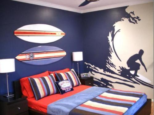 Wall Decoration Ideas for Boy's Bedroom