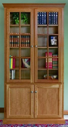 Glass Bookcase