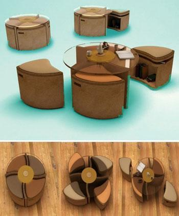 Small living furniture