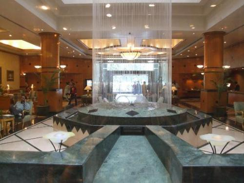 Grand and Beautiful hotel lobby design