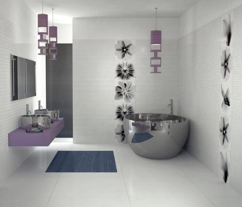 Ideas for Tiles Pattern for Bathroom Decoration
