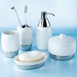 Bathroom accessories as bathroom kit