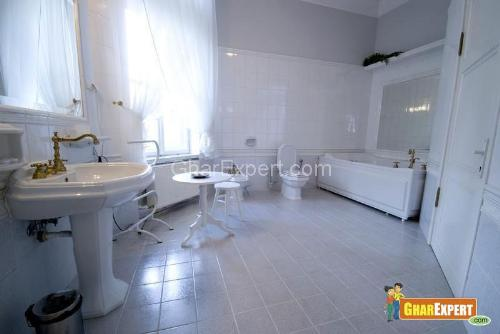 Ceramic Tile Bathroom Flooring