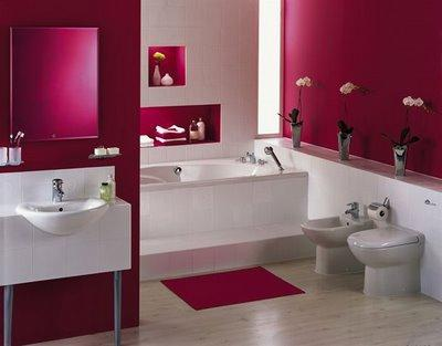 Vibrant Paint Colors for Bathroom Remodeling