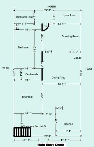 20X60 Floor Plans http://www.gharexpert.com/a/sabina-vanjani/1705/Vastu-Layout-South-Facing-Plot_0.aspx