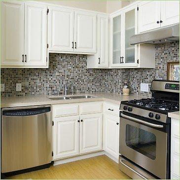 Cabinets in small kitchen