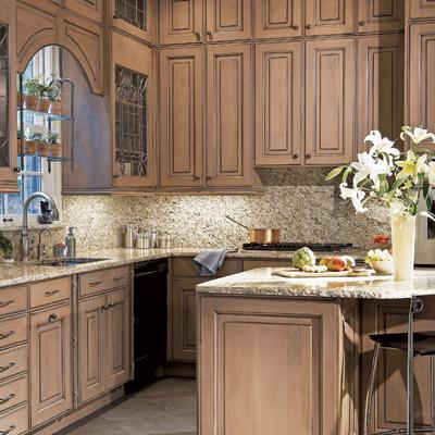 Small space kitchen cabinets