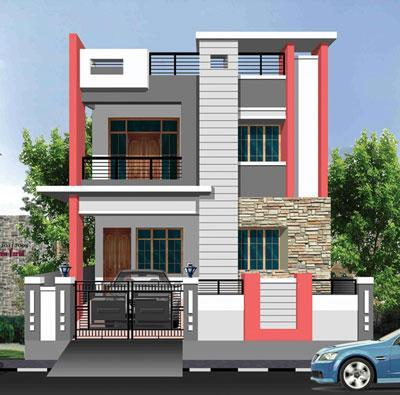 Exterior paint designs exterior paint color and design for for Outside paint colours for house in india