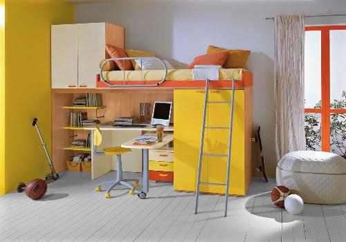 Loft Beds For Kids Bedroom