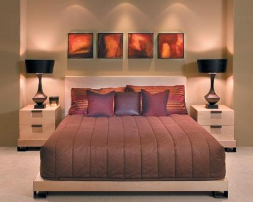 Master bedroom master bedroom design master bedroom for Bedroom lights decor