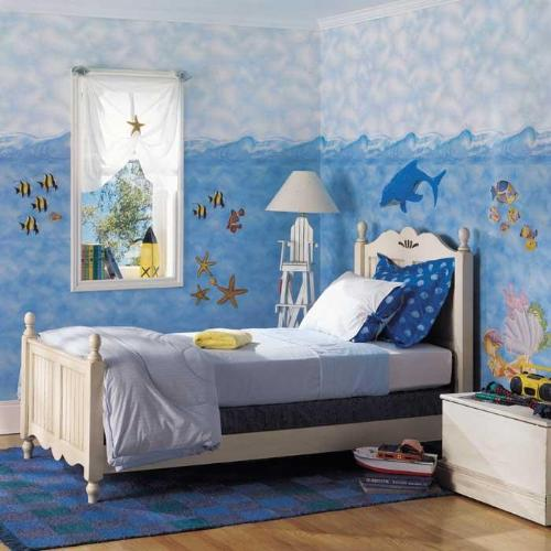kids room sea theme