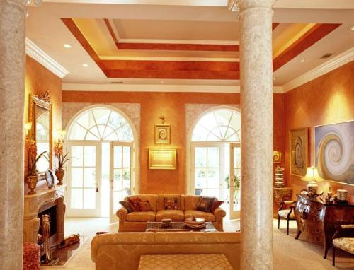 Living Room Ceilings