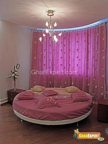 Modern Circular Bed