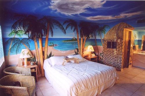 Beach Style Bedroom Designs 22 Ideas To Update Ceiling Designs With Modern Wallpaper Patterns