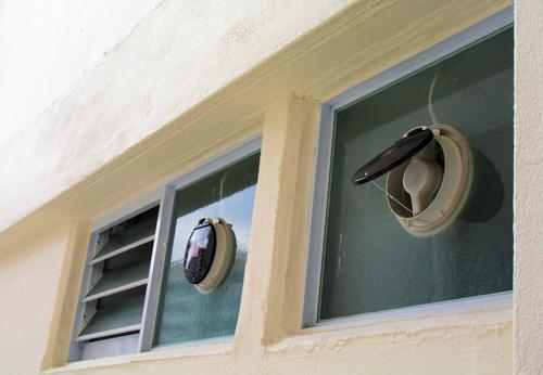 Exterior Mounted Exhaust Fans