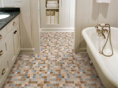 Terrazzo Bathroom Flooring