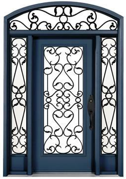 Iron or Steel Doors