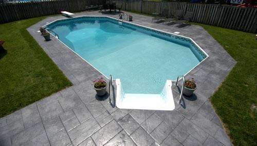 Inground swimming Pool