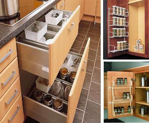 Kitchen storage ideas kitchen storage solutions for Sample modular kitchen designs