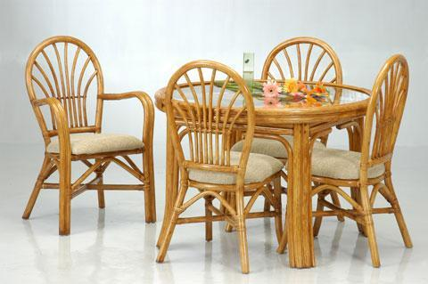 Beau Bamboo Dining Table