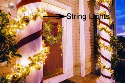 Diwali decor- string ligts