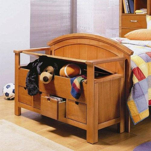 Storage in kids room