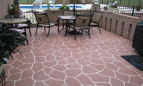 Gallery For Exterior Concrete Patio Paint