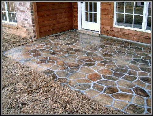 1000 Ideas About Concrete Patio Paint On Pinterest