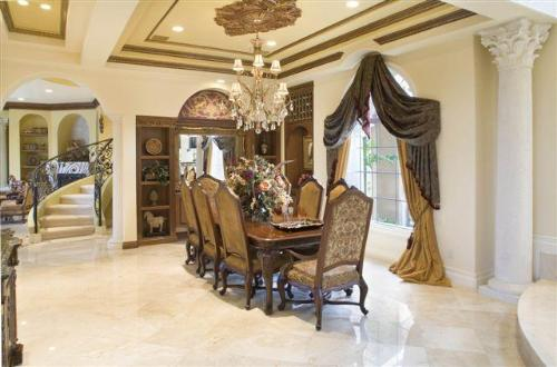 Pop Experts Can Make This Design In Your Room Also A White Ceiling With Brown Border On Molding And Medallion Embellishes Dining