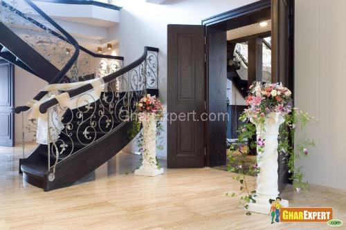 Entrance door decoration