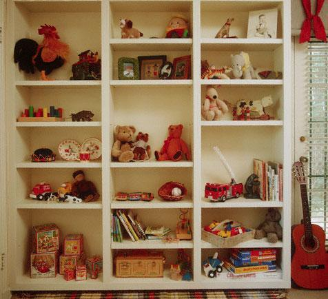 Shelving and Storage Ideas for Kids Room