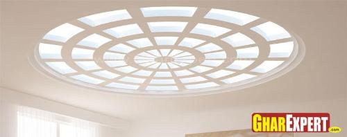 Round Skylight Ceiling Design
